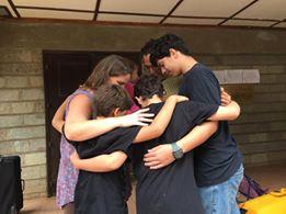 Family Prayer Time at RVA