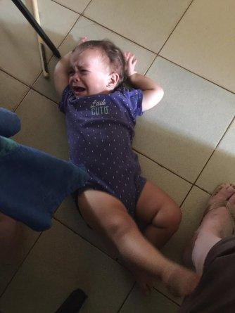 JoJo temper tantrum